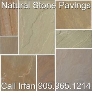 Indian Outdoor Tile Natural Stone Flagstone Pavers Paving Stones
