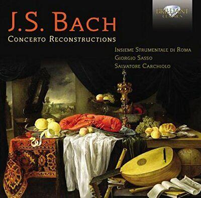 Insieme Strumentale di Roma - J.S. Bach: Concerto Reconstructions [CD]