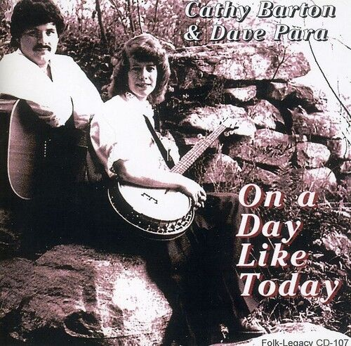 Cathy Barton & Dave Para - On a Day Like Today [New CD]