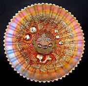 Carnival Glass Plate