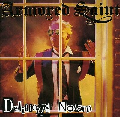Armored Saint   Delirious Nomad  New Cd  Jewel Case Packaging