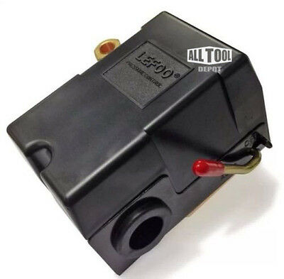 Lefoo Quality Air Compressor Pressure Switch Control 95-125 Psi 4 Port W Unload