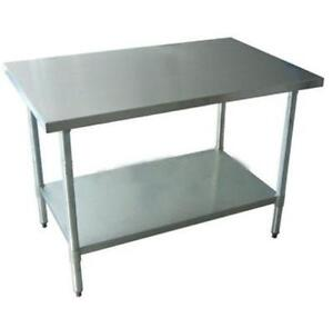 Stainless Steel Table EBay - 5 ft stainless steel table