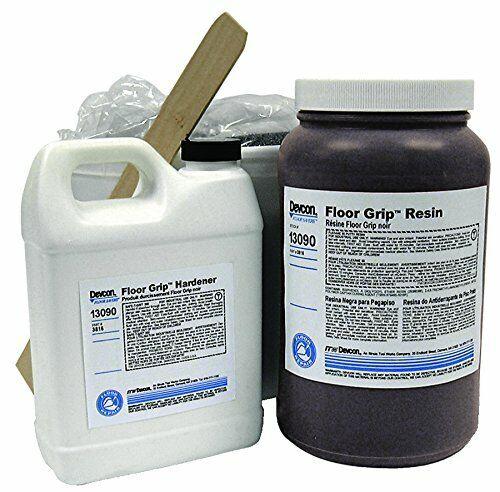 Devcon Base & Accelerator (B/A) Asphalt & Concrete Sealant - Black Liquid 2 gal