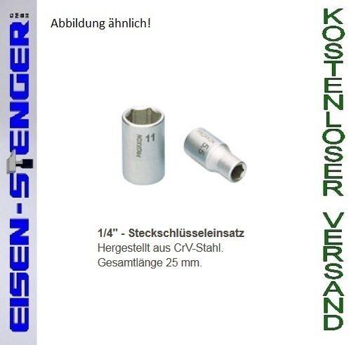 PROXXON 1/4'' Steckschlüsseleinsatz, 11 mm No 23724