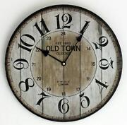 Old Wall Clock