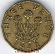 1942 Three Pence