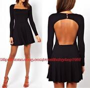 Back Button Dress