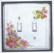 Cross Stitch Switch Plate