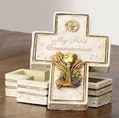 - Rosary/Keepsake Box - My First (Holy) Communion Gift Inspirational 63107