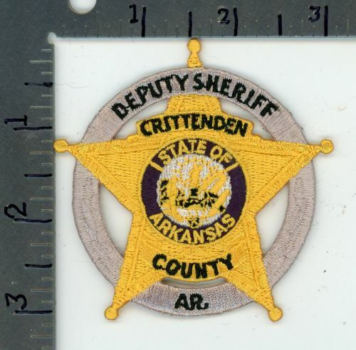 ARKANSAS AR CRITTENDEN COUNTY SHERIFF NEW COLORFUL PATCH POLICE