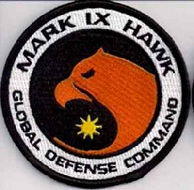 "Space:1999  Eagle Hawk Pilot  Logo  3.5"" Uniform Patch- USA Mailed  (SPPA-1909)"