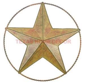 Metal Texas Star Wall Decor