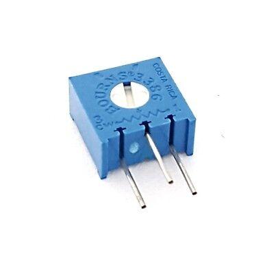 500 Ohm .50w Trimpot Potentiometer Variable Resistor 3386x-1-501 Bourns 10 Pcs