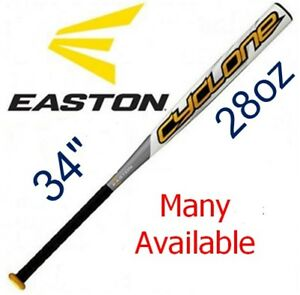 "NEW:EASTON 34 in/ 28 oz ""CYCLONE"" SOFTBALL BAT - USSSA APPROVED"