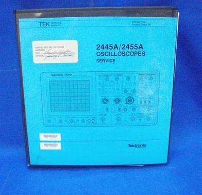 Tektronix 2445a2455a Oscilloscopes Service Manual