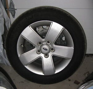 Michelin Defender tires on Ford Fusion rims