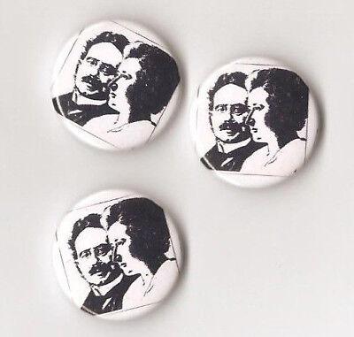 1x Karl Liebknecht & Rosa Luxemburg Button