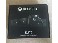 Xbox one Elite (under warranty) with 3 games and more!