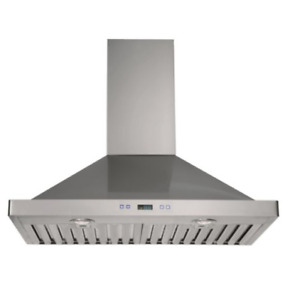 "30""  Stainless Steel Chimnet Range Hood Fan"