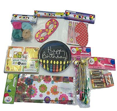 Birthday Party Supplies Bundle for Kids Boys Girls 100+ Pieces Games Prizes](Birthday Games For Girls)
