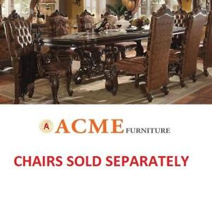 NEW* ACME FURNITURE DINING TABLE 61100 171561504 VERSAILLES CHERRY OAK