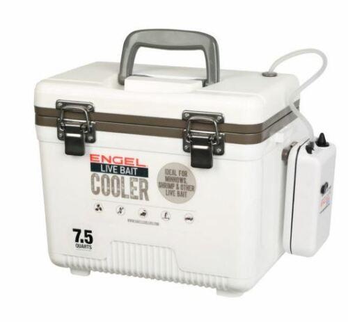 Engel  7.5 Qt. Live Bait Dry Box/Cooler ENGLBC7-N New !!