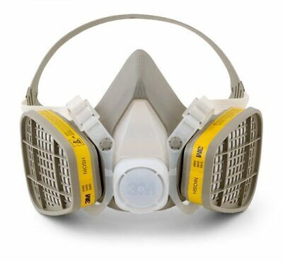 3m 5203 Half Facepiece Respirator Worganicvapor Acid Gas Cartridge Medium