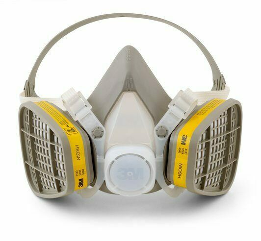 3M 5203 Half Facepiece Disposable Respirator Assembly, Organ