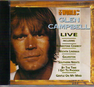 Glen Campbell - The World of Glen Campbell (Live) West Island Greater Montréal image 1