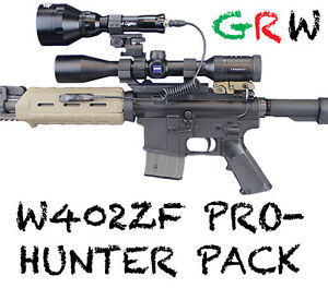 wicked lights w402zf pro hunter pack for night hunting coyotes hogs. Black Bedroom Furniture Sets. Home Design Ideas