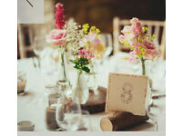 Wedding Jam Jars & Vases Decorations