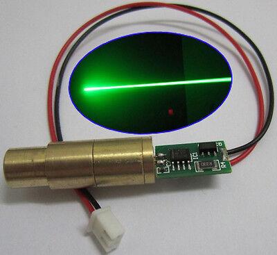 Lab 532nm 100mw Green Laserlazer Diode Module Visible Beam Stage Lighting