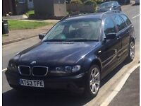 BMW 320D SE TOURNG 6 SPEED
