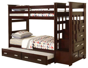 Bunk Bed With Trundle And Storage (Allentown)