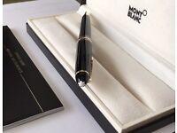 Montblanc Meisterstück LeGrand Gold Plated Ballpoint Pen