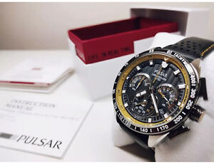 Brand New Pulsar by Seiko 45mm V8 Supercars Chronograph Watch Maroubra Eastern Suburbs Preview