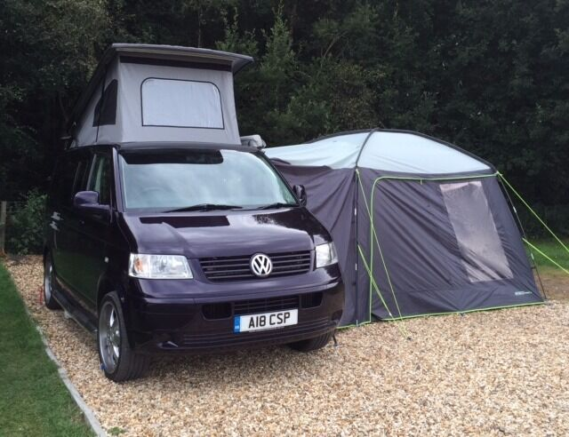 VW T5 Campervan 2009 Converted 2013 Pop Up Roof 4 Berth Immaculate