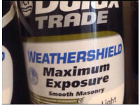 Dulux Trade Weathershield Smooth Masonry Light 5L