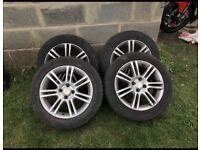 Alloy wheels 4 spoke