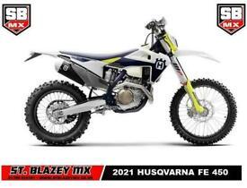 2021 HUSQVARNA FE 450 ENDURO BIKE