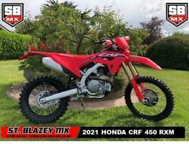 2021 HONDA CRF450 RX ENDURO BIKE