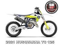 HUSQVARNA TC 125 MOTO-X BIKE - NOW AVAILABLE TO ORDER AT ST BLAZEY MX