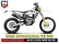 2020 HUSQVARNA FE 350 ENDURO BIKE
