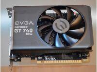 EVGA GeForce GT740 Superclocked/ 2GB GDDR5/ PCIe / Dual DVI / Mini HDMI
