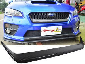 2015-2018 Subaru WRX STI Front Grille Garnish Cover Carbon fiber