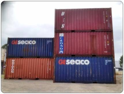 Shipping Containers 20ft Cargo worthy inc GST
