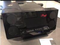 Black Gloss Sony CMT-Z100DIR Audio Shelf System - CD, DAB and iPod/iPhone