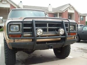 Looking for push bumper for 80's dodge