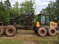 2004 John Deere 1410D Forwarder